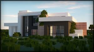 100 Modern Hiuse BUILDING MINECRAFT MODERN HOUSE Realistic RayTracing 2019 GRAPHICS