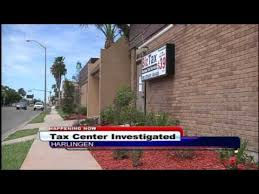 IRS agents raid in e tax office in Harlingen