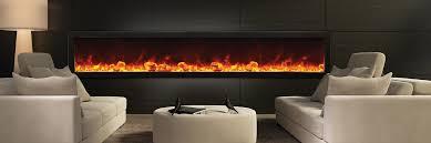 Amantii BI 88 DEEP Full Frame Electric Fireplace