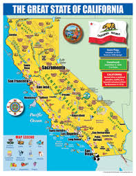 California State Map For Google Maps Kids Of