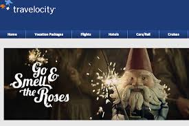 Go Smell The Roses Says Travelocitys Roaming Gnome