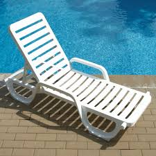 chaises grosfillex grosfillex bahia quality resin chaise white doheny s pool