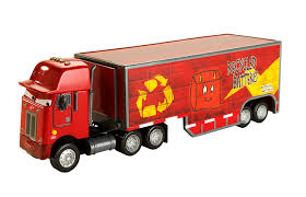 Amazon.com: Cars Jerry Recycled Batteries Hauler: Toys & Games