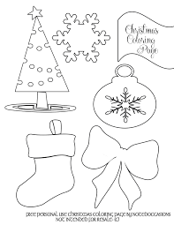 Download Coloring Pages Free Printable Christmas For Preschool Party Simplicity