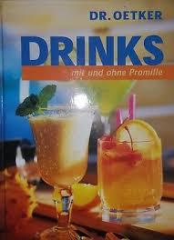 dr oetker drinks mit und ohne promille sehr guter zustand ebay