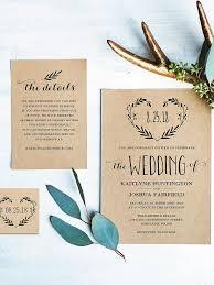 Rustic Wreath Wedding Invitation Template
