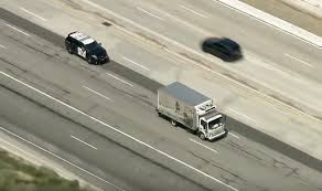 100 Socal Truck Box Truck Gives Chase On SoCal Highway Medium Duty Work