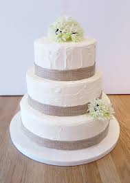 Buttercream Rustic Wedding Cake