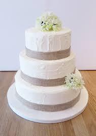 Buttercream Rustic Wedding Cake
