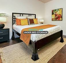 greenco adjustable bed and furniture riser great for under bed