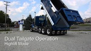 J&J High Lift Tailgate Operation - YouTube
