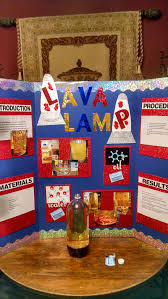 Homemade Lava Lamp Science Fair Project
