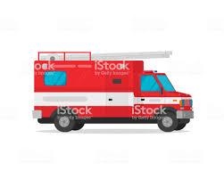 Fire Truck Vector Illustration Flat Cartoon Firetruck Emergency ...