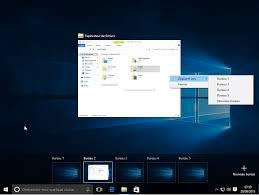 bureau viruel windows 10 gestion des postes de travail virtuels multiples avec
