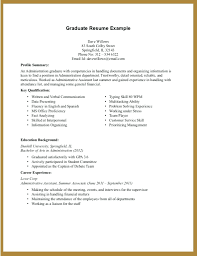 Resume Template Nursing Examples Resumes For New Graduates Transportation Surprising Sample Recent College Graduate Curriculum Vitae