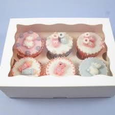 Boite A Cupcakes 6 Cavites Avec Insert