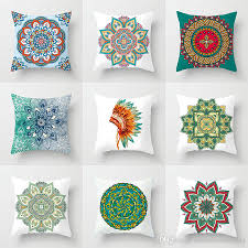 Mandala Flower Cushion Covers Proud To Be An Indian Elephant Modern Decor  Pillow Cases 44X44cm Sofa Chair Decoration Free Shipping Modern 8 Colors Solid Sofa Chair Designer Faux Linen Like Throw Fashion Cushion Cover Decorative Home Pillow Case X45cm Footsi High Chair Cushion Cover Pimp My High Spandex Chiavari Tk Classics Laguna Outdoor Middle With 2 Sets Of Covers 28 Great Of Pasurable Photos Moroccan Wedding Blanket How To Easily Recover A Improvement Amazoncom Aztec Pattern Kilim Lumbar Vintage Motorcycle Racing Girl Cotton Pillowcase Seat Car Almofadas 40cm Fluffy Plush Soft Peacock Caribou