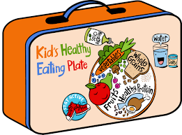 Kids Healthy Eating Plate Lunchbox