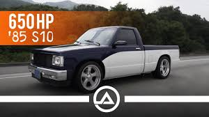 100 Lmc Truck S10 Killing Tires In A 650 Hp 85 Chevy Sleeper