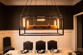 edison bulb chandelier rustic lighting modern marvelous led etsy