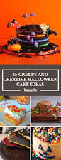 Cakes Decorated With Sweets by 30 Easy Halloween Cakes Recipes U0026 Ideas For Halloween Cake