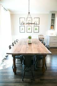 Farmhouse Dining Table Luxury Behind The Scenes Of S Fixer Upper Diy Industrial Room Beautiful A Pipe Leg And