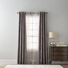Grommet Top Curtains Jcpenney by Royal Velvet Plaza Embroidery Blackout Grommet Top Curtain Panel