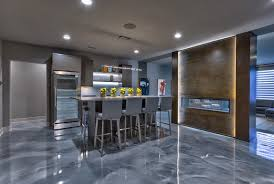 Poured Epoxy Flooring Kitchen by Concrete Repair And Decorative Coatings Specialist Serving New