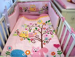 Cute Uni Baby Owl Nursery Bedding Ideas