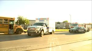 Concrete Truck, School Bus Involved In Crash In N.W. Oklahoma City ...