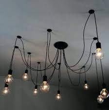 pendant light cord wall ceiling l set with bulb socket
