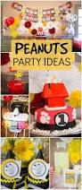 Baptism Decoration Ideas For Twins by 135 Best Snoopy Party Images On Pinterest Snoopy Party Snoopy