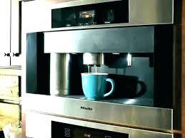 Best Built In Coffee Machine Maker Machines Reviews Ideas Find Your Favorite Systems Makers Miele Integrated Wolf Revi