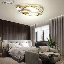 moderne runde led kronleuchter lichter hause dekoration leuchten für schlafzimmer studie wohnzimmer salon innen beleuchtung len ac90 260v