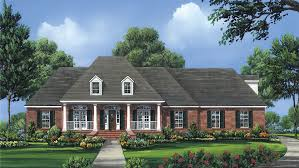 Colonial House Plans And Designs At BuilderHousePlans
