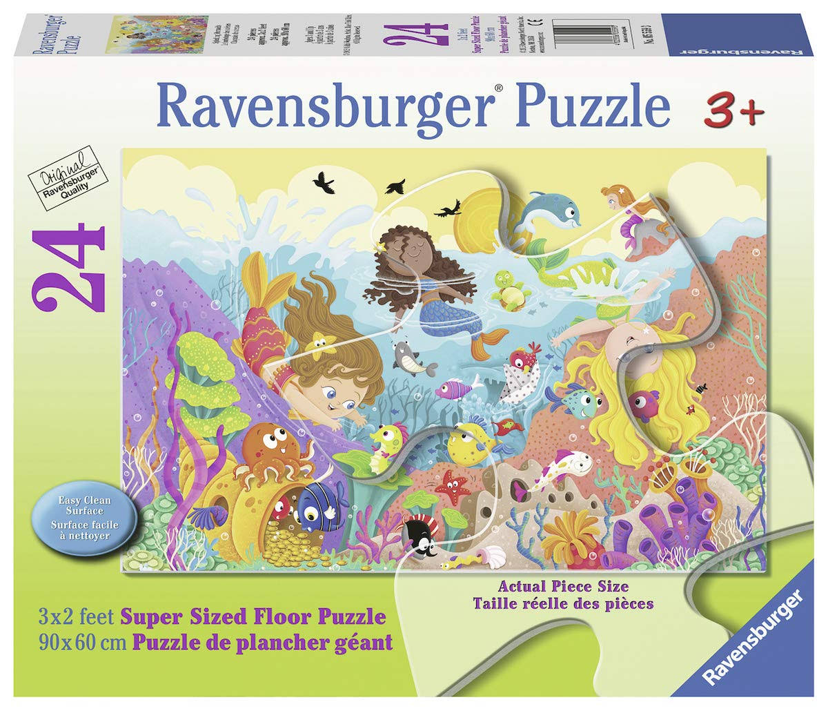 Ravensburger 24 Piece Puzzle Splashing Mermaids