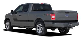 100 Ford Truck 2015 Decals Graphics LEAD FOOT SIDES 2018 2019 FCD