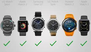2017 Smartwatch parison Guide