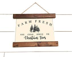 Christmas Canvas Banner Sign