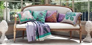 Decor Tips Paisley Embroidered Bohemian Outdoor Pillows For