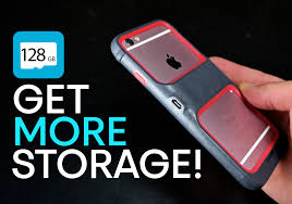 New Case Upgrades iPhone 6S Storage Up To 128GB