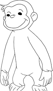 Curious George Coloring Page Printable Pages Bestofcoloring To Print
