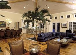 West Indies Furniture With White Blades Family Room Tropical And Key Style