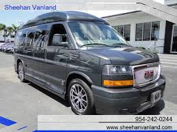 2014 GMC Savana 1 Owner 7 Passenger Explorer LTD SE Conversion Van