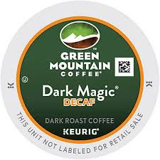Decaf Pumpkin Spice Latte K Cups by Dark Magic Decaf K Cups Green Mountain 24 Box Quill Com