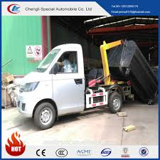 100 Small Roll Off Trucks For Sale Karry 4cubic Hook Lift Garbage 4cm3 Mini Sealed Garbage Truck