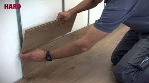 laminatboden an der wand montieren verlegeanleitung haro laminat