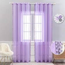 lila transparente gardinen vorhänge und weitere gardinen