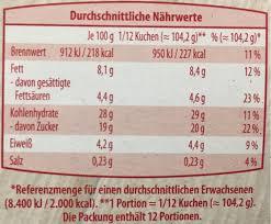 pudding kirsch kuchen 1250 g