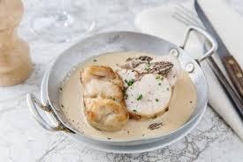 cuisiner du veau recette de ris de veau croustillant morilles à la crème facile et